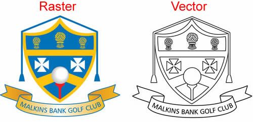 Vector conversion of logo to be used for engraving on to a trophy